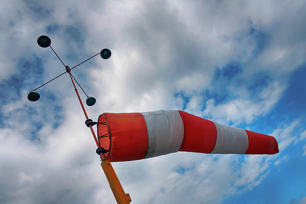 wind sack - windbeutel stock-fotos und bilder