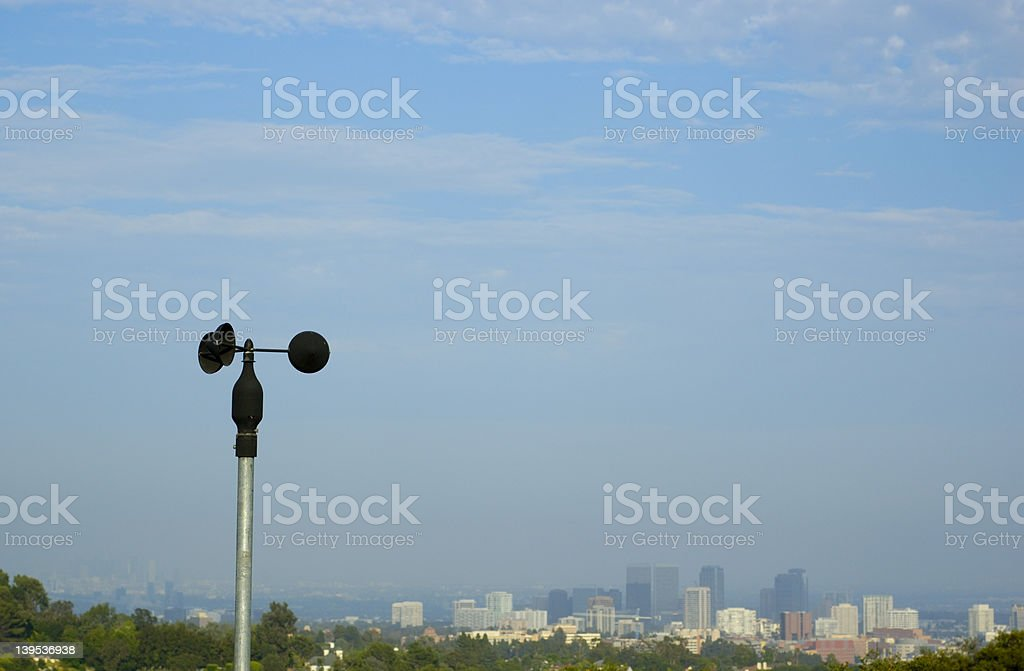 Wind Speed Sensor royalty-free stock photo