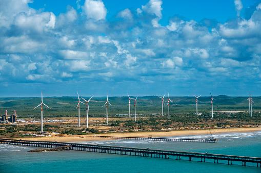 Wind Station in Aracaju