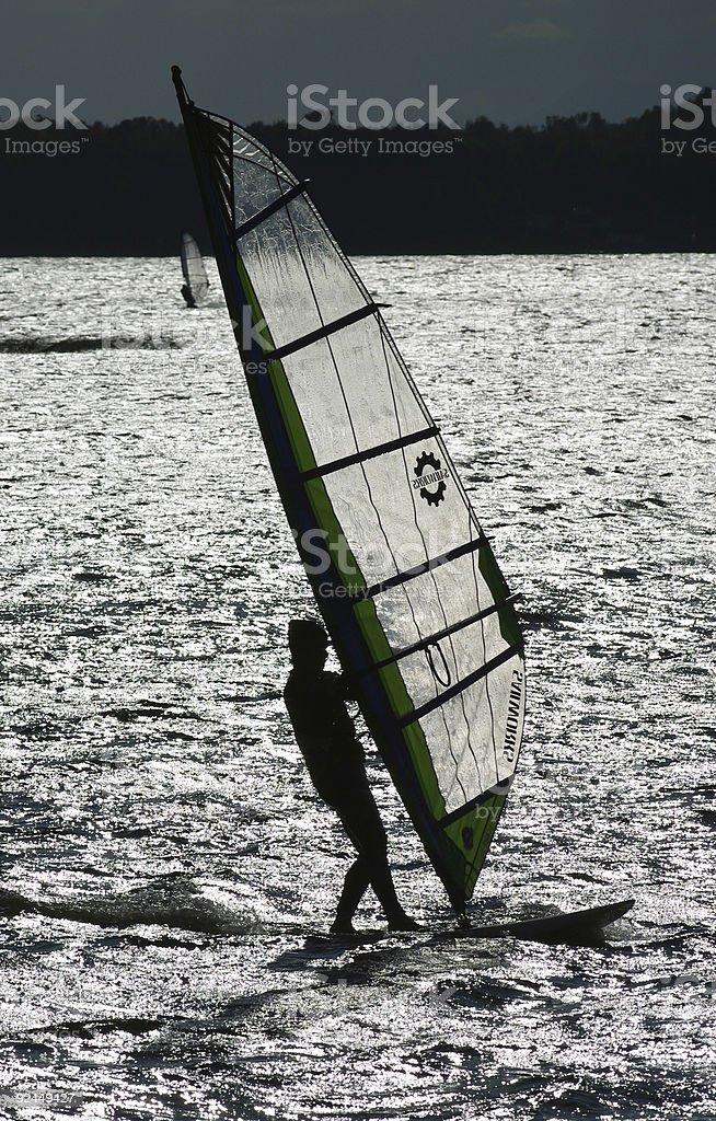 Wind Surf stock photo