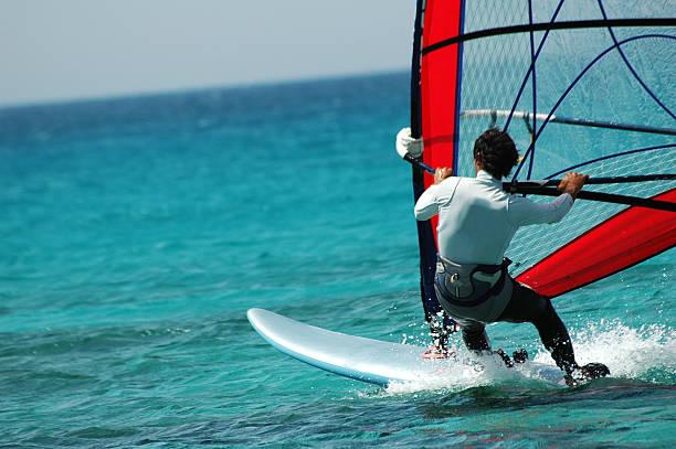 surfer vento - foto stock