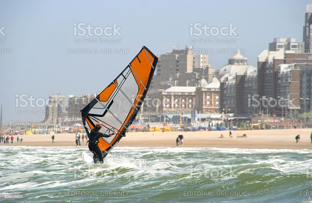 Wind Surfer stock photo