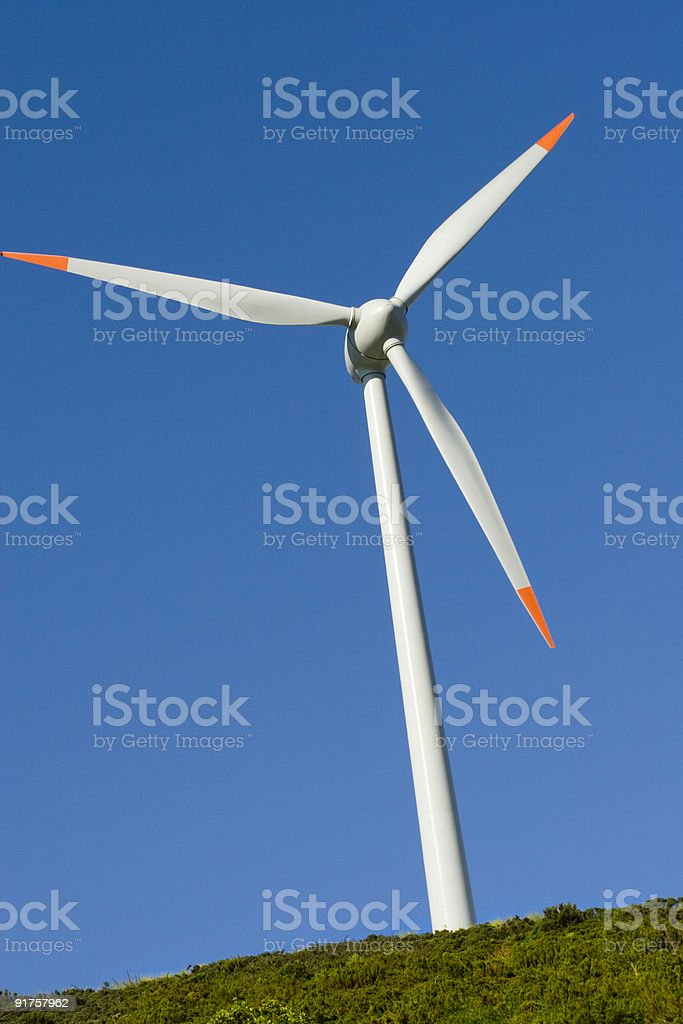 Wind Turbine 04 stock photo