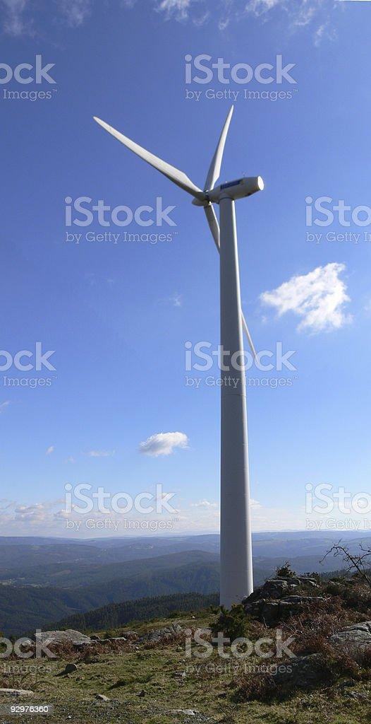 Wind turbine 1 stock photo