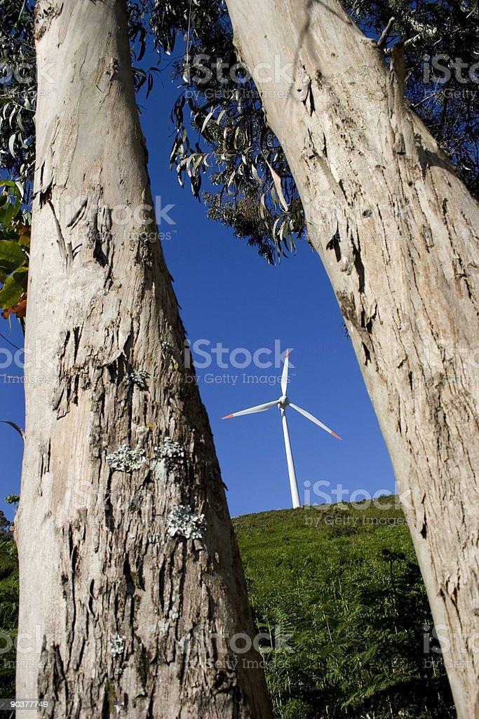 Wind Turbine 12 stock photo