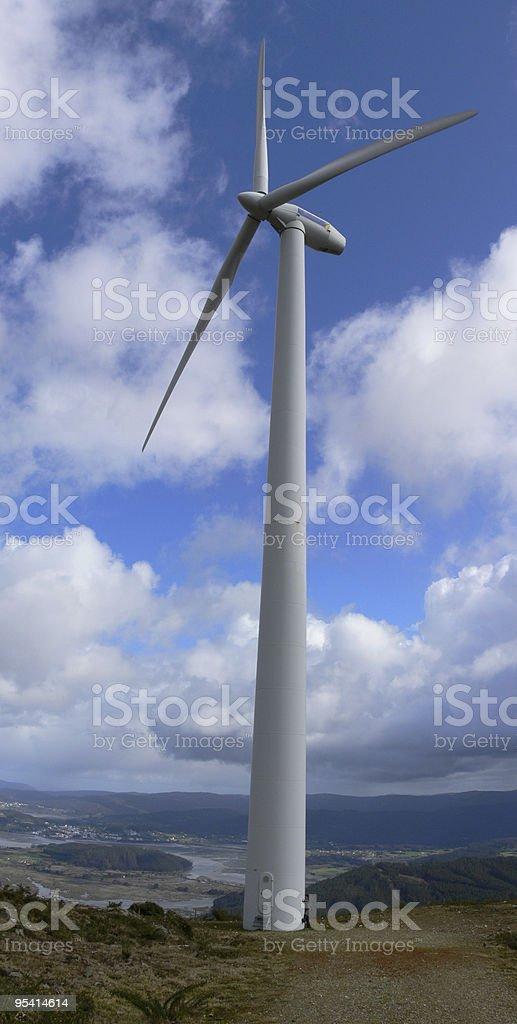 Wind turbine 2 stock photo