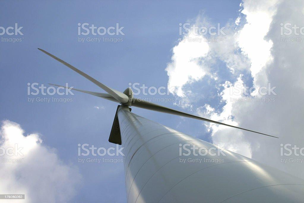 Wind turbine 3 stock photo