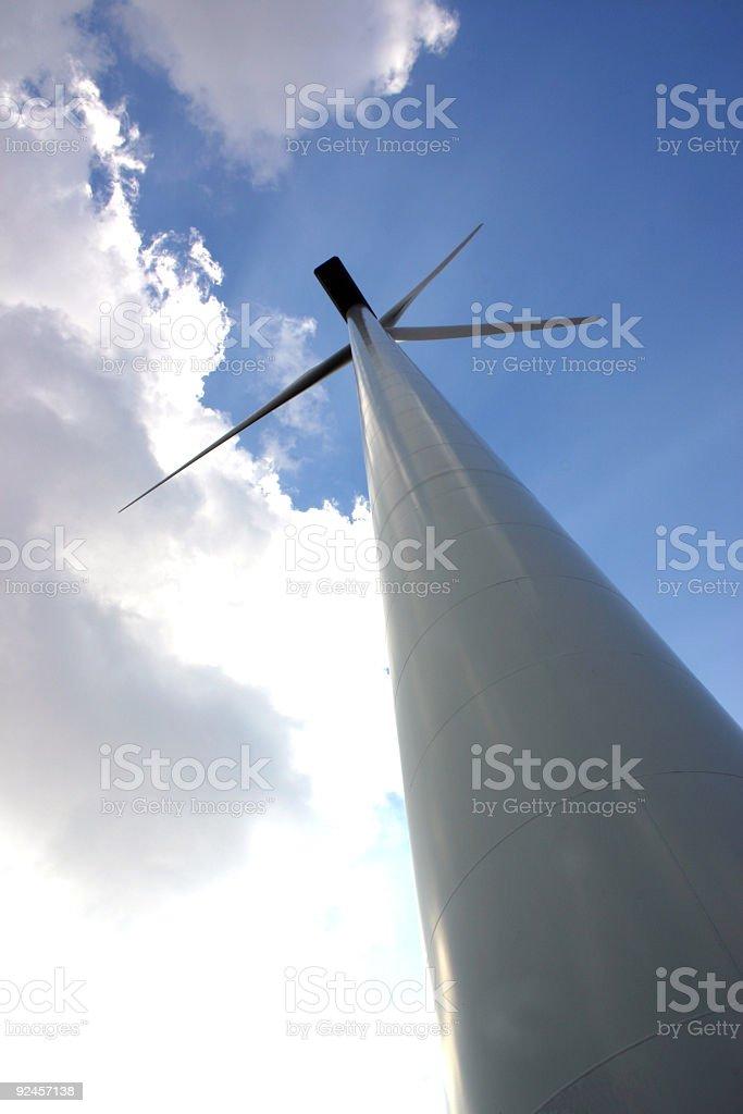 Wind turbine 5 stock photo