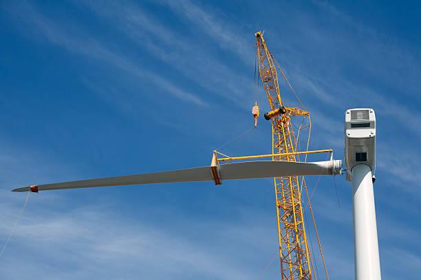 Windkraftanlage Baustelle – Foto