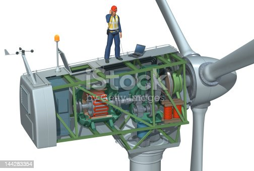 istock Wind Turbine Cutaway 144283354
