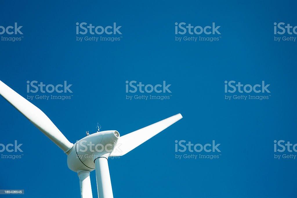 Wind Turbine Detail royalty-free stock photo