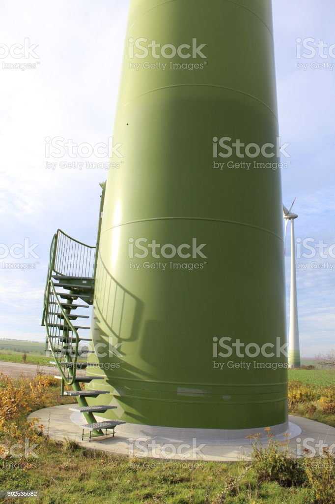 wind turbine detail - Royalty-free Agricultural Field Stock Photo