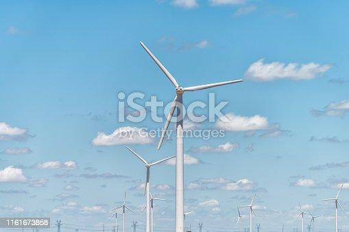 🔥 Wind turbine farm in a remote area of Scotland, Europe