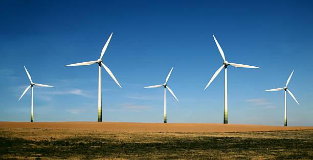 Windturbinen farm-alternative Energiequelle – Foto