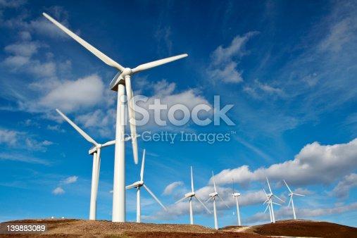 istock Wind turbine farm 139883089