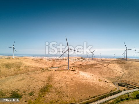 wind turbine in california