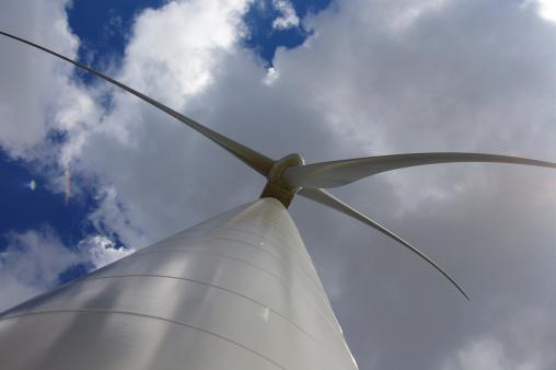 Wind Turbine Stock Photo - Download Image Now