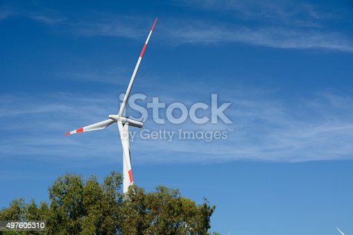 480763537 istock photo Wind turbine 497605310