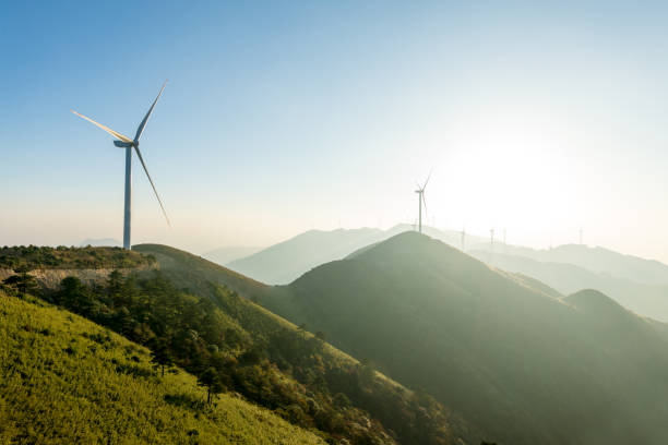 Wind Turbine Wind Turbine wind power stock pictures, royalty-free photos & images