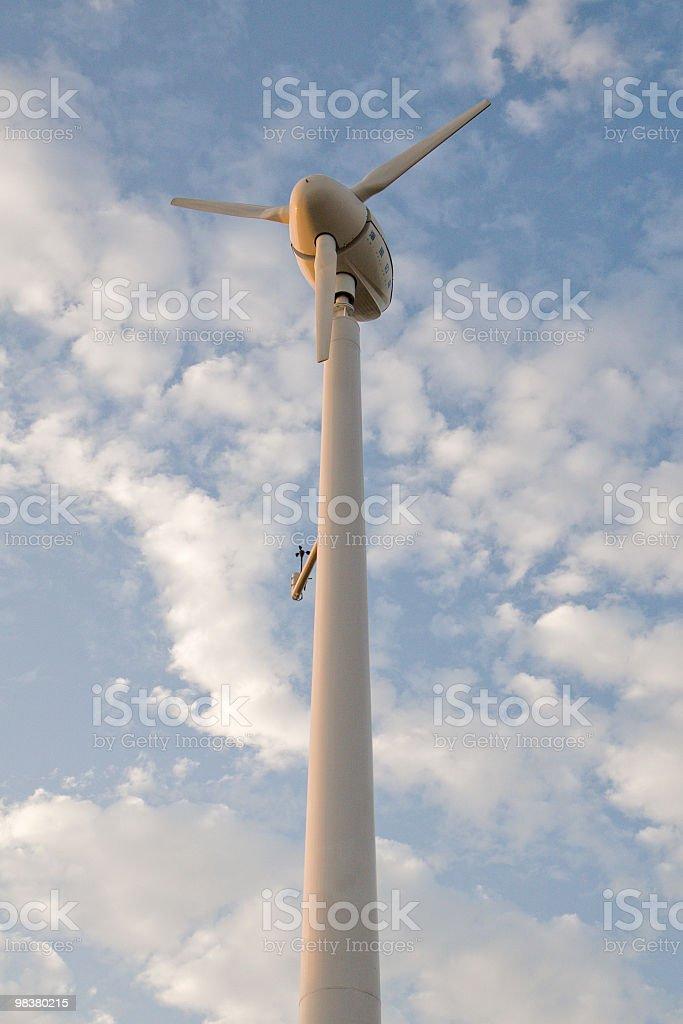 풍력발전기 royalty-free 스톡 사진