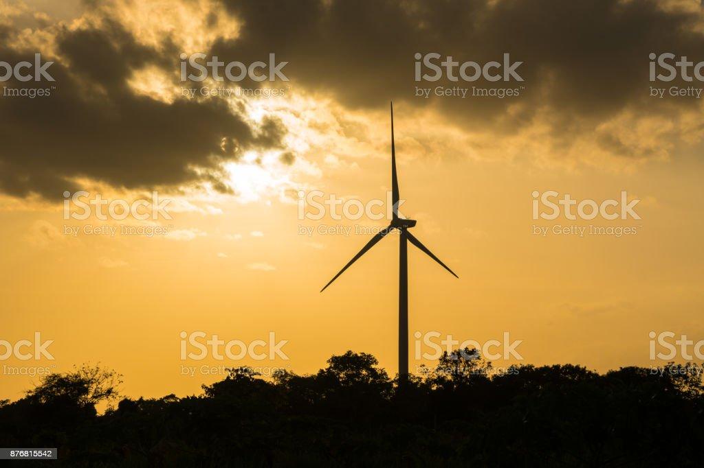 Wind Turbine macht – Foto