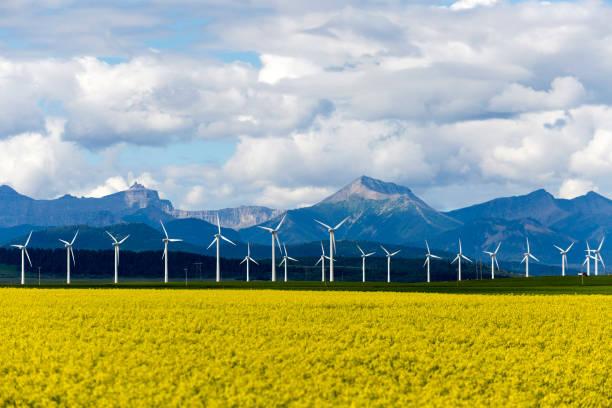 Wind Turbine Renewable Energy stock photo