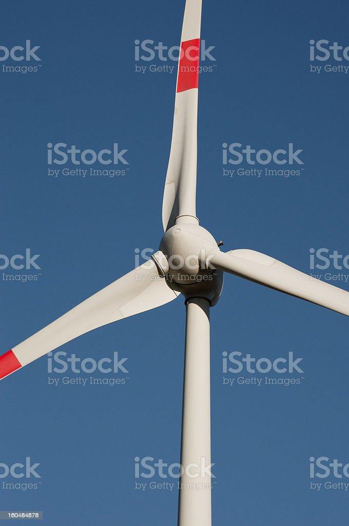 Wind Turbine-Detail royalty-free stock photo