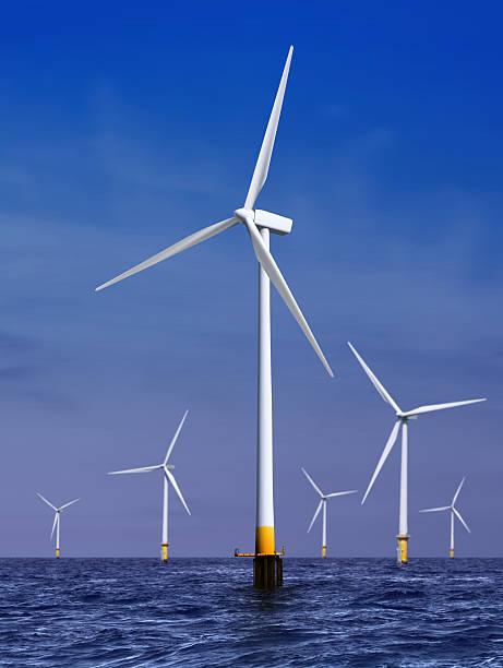 Windturbinen Energie – Foto