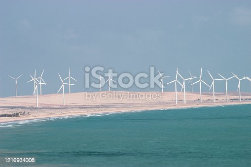 The Brazilian coastline of Ceara State is very windy and it is a good area for the alternative energy