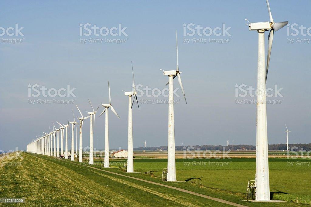 Wind turbines # 5 royalty-free stock photo