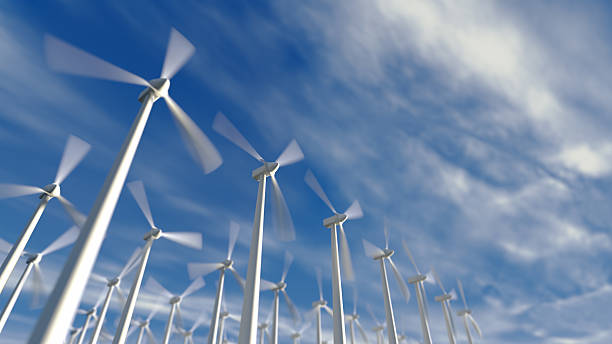 Windkraftanlagen – Foto