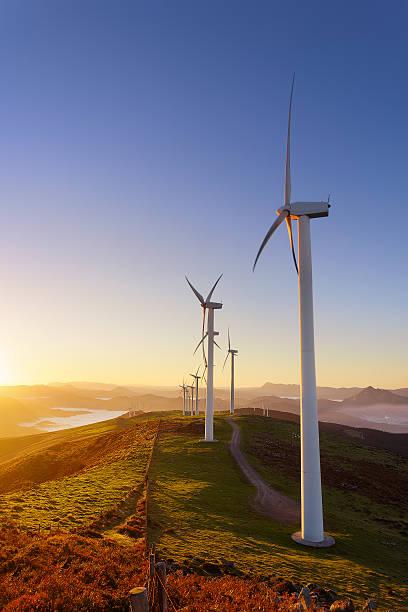 Turbinas eólicas  - foto de stock