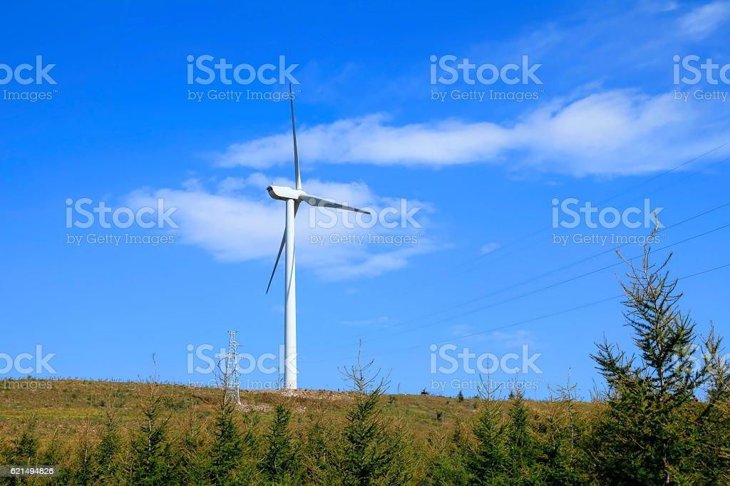 Windturbinen  Lizenzfreies stock-foto