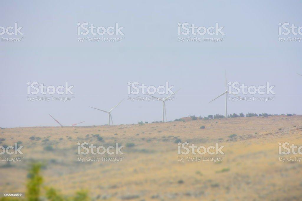 turbiny wiatrowe - Zbiór zdjęć royalty-free (Bez ludzi)