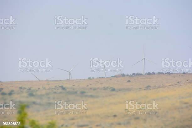 Turbiny Wiatrowe - zdjęcia stockowe i więcej obrazów Bez ludzi