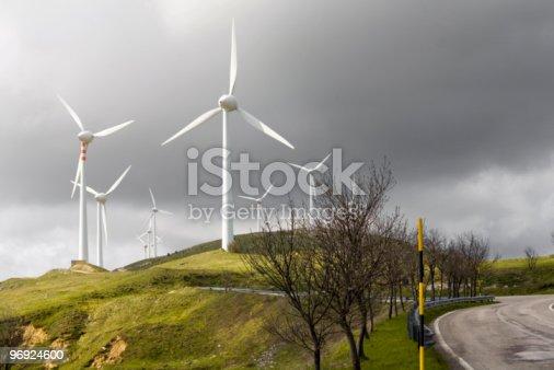 Wind Turbines Stock Photo & More Pictures of Abruzzi