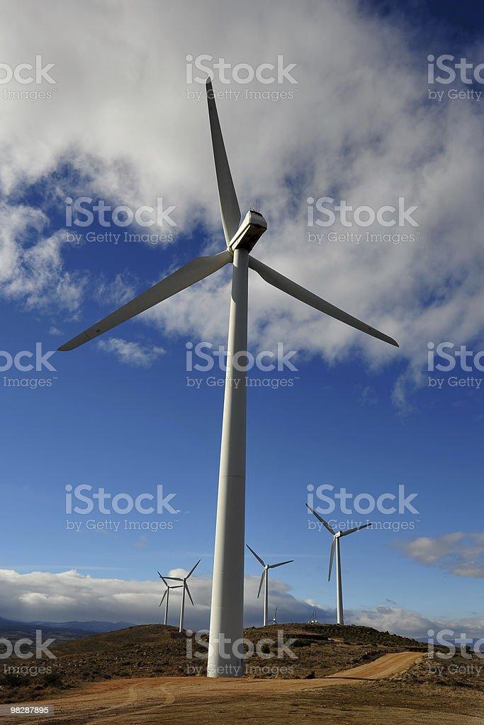Turbine eoliche foto stock royalty-free