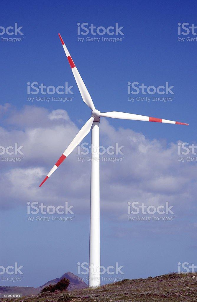 wind wheel royalty-free stock photo