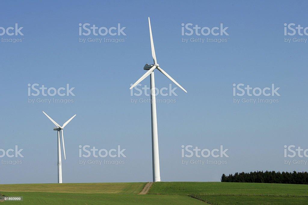 Windenergy 2 royalty-free stock photo