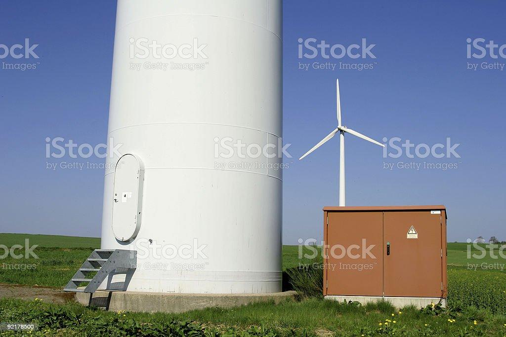 Windenergy 3 royalty-free stock photo