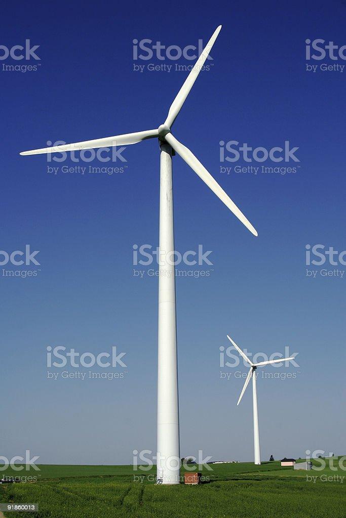 Windenergy 6 royalty-free stock photo