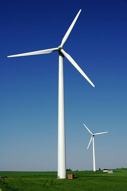 Windenergy 6 stock photo