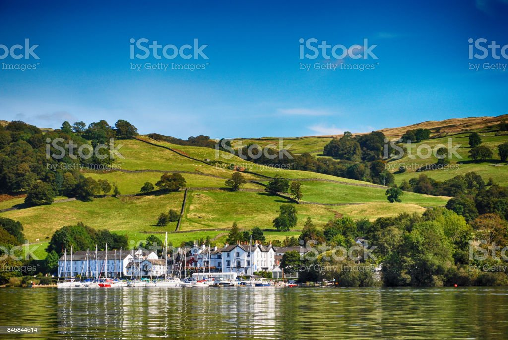 Windermere, Lake District United Kingdom stock photo