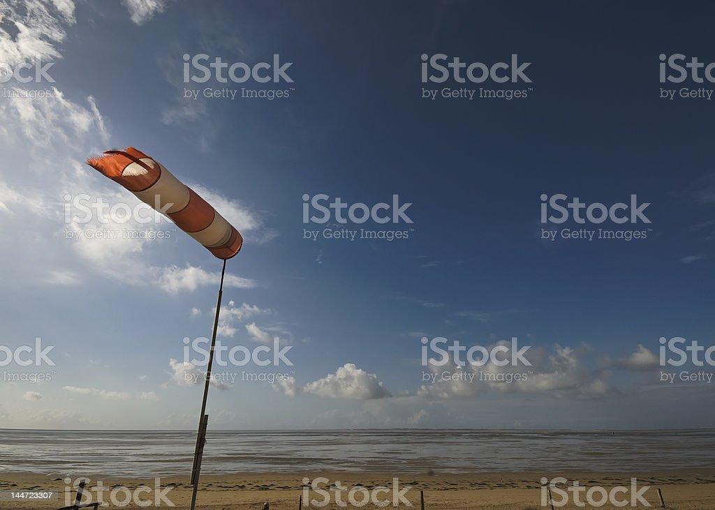 Windfahne stock photo