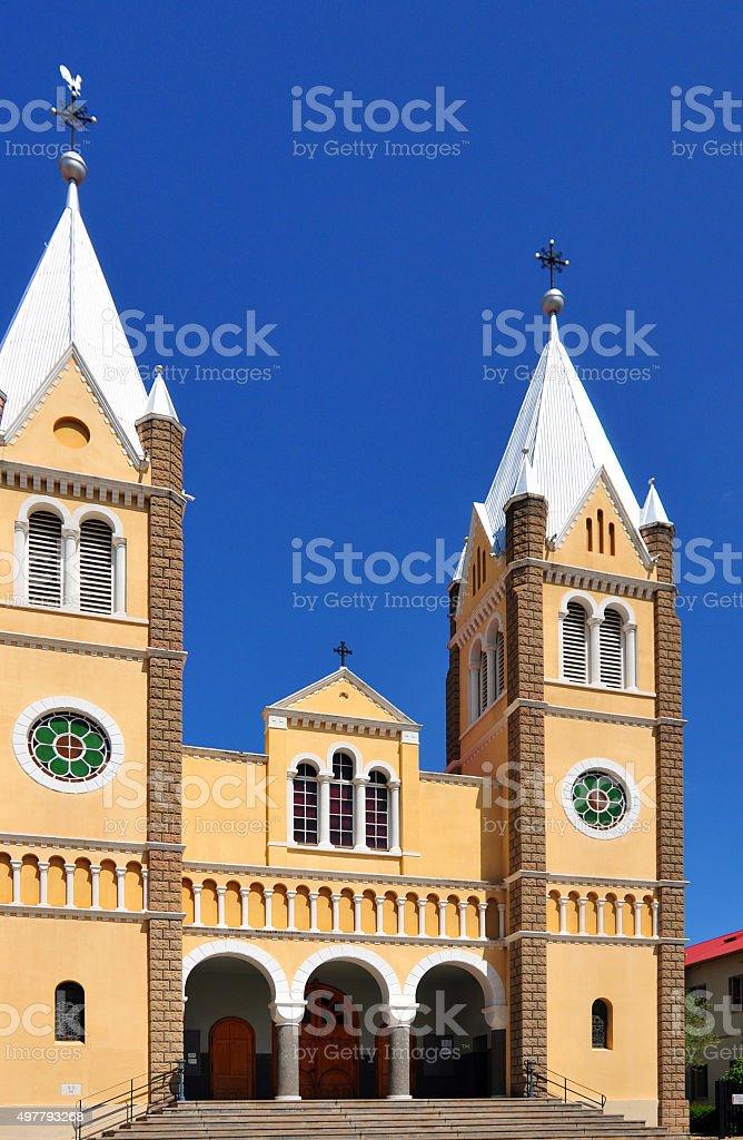 Windhoek, Namibia: Catholic Cathedral stock photo