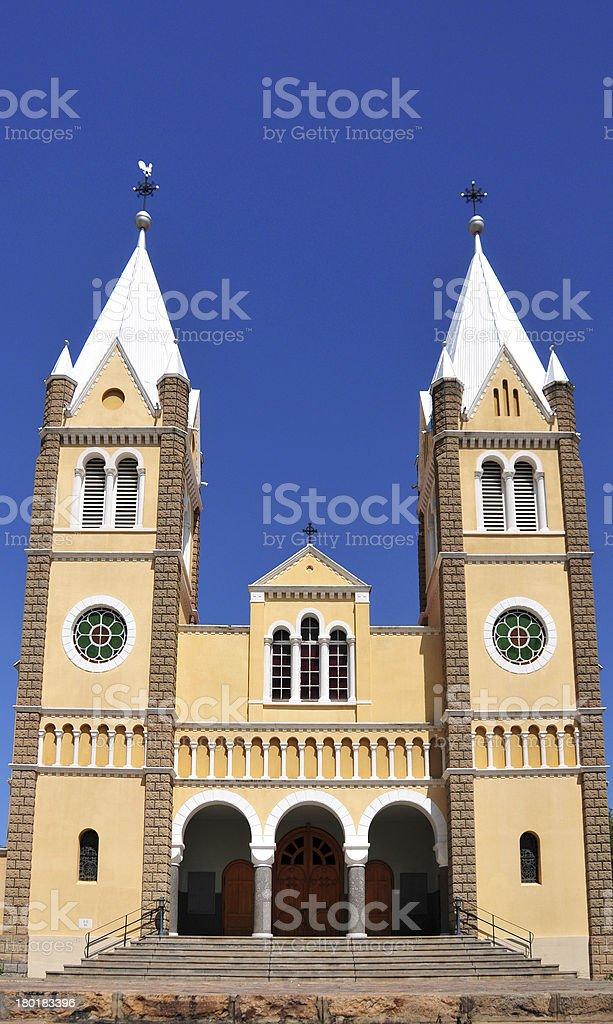 Windhoek, Namibia: St. Mary's Cathedral, Roman Catholic royalty-free stock photo