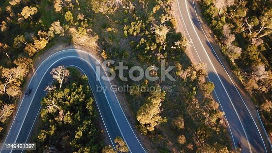 1061550162 istock photo Winding forest road 1249461397