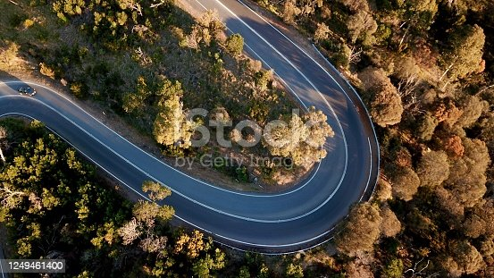 1061550162 istock photo Winding forest road 1249461400