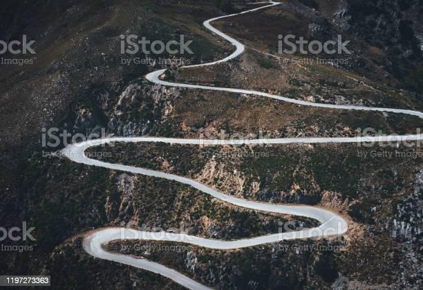 Photo of Winding Mountain Road