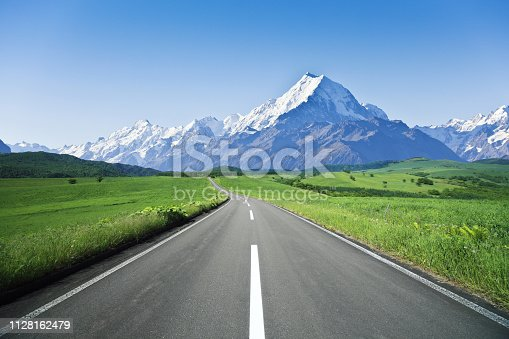 Mountain Road, Road, Multiple Lane Highway, Desert, Dirt Road
